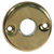 HANDLE ROSE ROUND BRASS