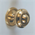 "KNOB GEORGIAN BRASS 25mm (1"")"