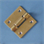 DOUBLE TAIL HINGE BRASS 60x60