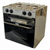 NELSON COOKER 2 BURNER,GRILL GIMBALLED STAINLESS STEEL