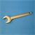 GAS SPANNER POLISHED BRASS
