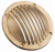GRATE FULL BRASS 60mm DIA