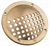 GRATE SCOOP BRASS 60mm DIA
