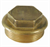 BRASS FLANGED PLUG BSP PARALLEL