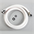 "WHALE ELEGANCE SHOWER HOSE ASSY 1/2""BSPx1.7M WHT"