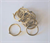 CURTAIN RING BRASS PER 10