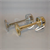 BRASS HORN 12v 250mm LONG