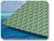 TREADMASTER DIAMOND PAD 275x135 GREEN