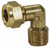 "MALE STUD ELBOW COUPLING 8mm x 1/4"" BSPT"