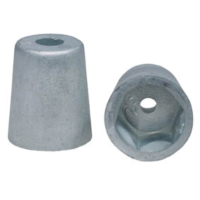 22mm HEXAGON END SHAFT ZINC ANODE
