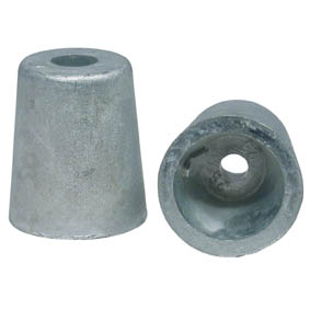 TAPERED 25mm SHAFT ZINC ANODE-FIT BENETEAU