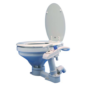 OCEAN MANUAL COMFORT TOILET WOODEN SEAT