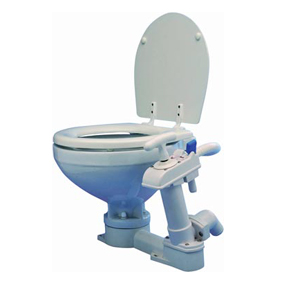OCEAN MANUAL COMPACT 99 TOILET WOODEN SEAT