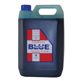 PERFUMED TOILET BLUE FLUID 5 LTR