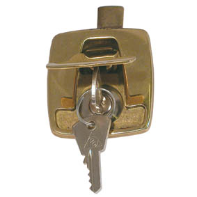 HATCH LOCKING DEVICE  BRASS