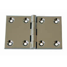 CHROMED BACK FLAP HINGE 1 1/2