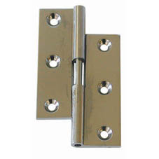 LIFT OFF HINGE BRASS/CP LH 3