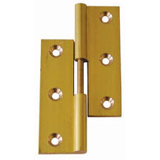 LIFT OFF HINGE BRASS/SC RH 2
