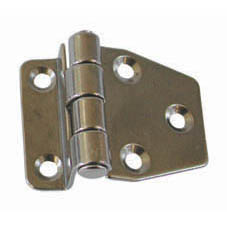 SS 10mm CRANKED HINGE 37mm x 48mm
