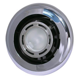 EXTRACT-A-LITE 24V SHOWER/FAN LIGHT 100mm CHROME