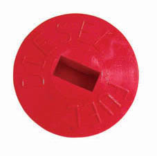 PLASTIC DECK FILLER CAP RED FOR DIESEL