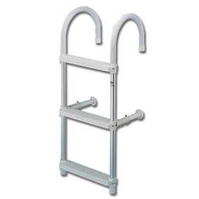 TREM 4 STEP ALLOY HOOK ON LADDER 119cm
