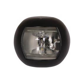 TREM ROUND LED NAV LIGHT STERN BLACK 12V (20M)