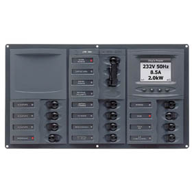 BEP 230V AC CB PANEL 12SP 2DP DIGI