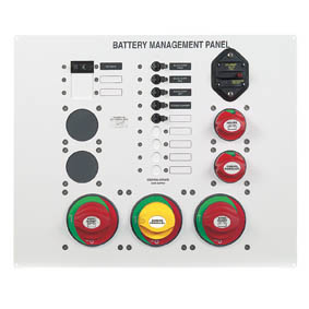 BEP 800-MS3 BATTERY MANAGEMENT PANEL TWIN ENG 12-16M
