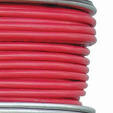 TIN CABLE 1 CORE 10.0mm 75M/250  RED    8G