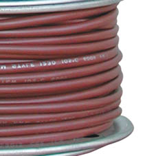 TIN CABLE 1 CORE 2.5mm 30M/100  BROWN  14G