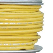 TIN CABLE 1 CORE 4.0mm 30M/100  YELLOW 12G