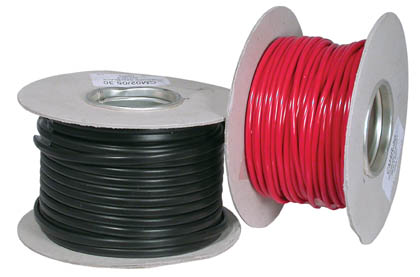 1 CORE TINNED CABLE 35/0.30 2.5mm2 50M BLACK