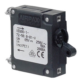 BEP IEG MAGNETIC CIRCUIT BREAKER 25A S/POLE