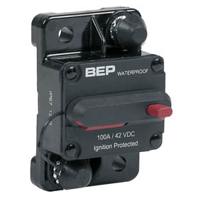 BEP SURFACE MNT THERMAL CIRCUIT BREAKER 100A
