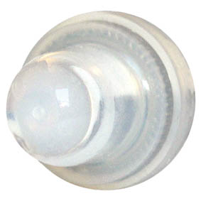 BLUE SEA C/BREAKER BOOT x2  CLEAR FOR 8-27252-61