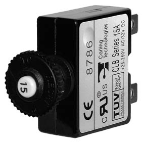 BLUE SEA CIRCUIT BREAKER PUSH BUTTON 30A