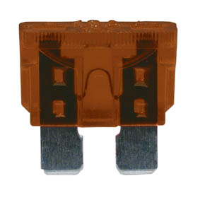 A/MARKET BLADE FUSE 19mm 7.5amp BROWN (50)