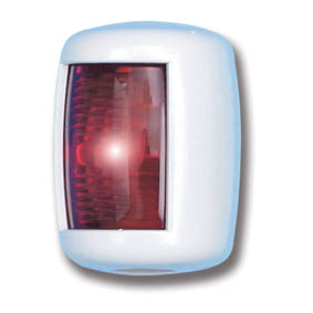 TREM MINI NAV LIGHT PORT WHITE 12V (12M)
