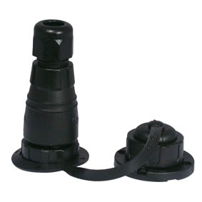 WATERTIGHT DECK PLUG + SOCKET 12A 6 POLE