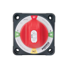 BEP PRO-INSTALLER BATTERY SWITCH 1/2/BOTH/OFF 2 X 400A 12-48V
