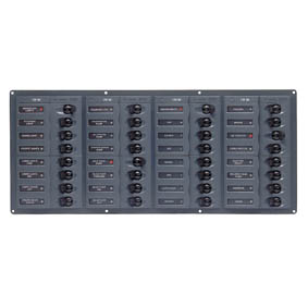 BEP 12V DC CB PANEL 32 WAY HORIZ NO METERS