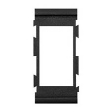 BLUE SEA CONTURA CENTRE BRACKET BLACK