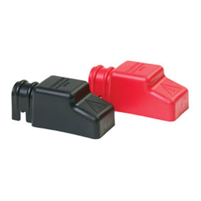 BLUE SEA SQUARE CABLECAP INSULATORS PAIR