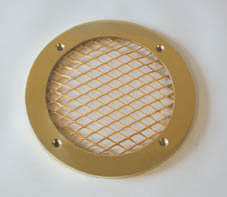 INTERNAL GRILL WITH SOLID BRASS RING