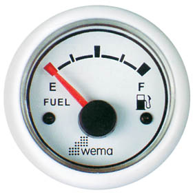 WEMA FUEL LEVEL INDICATOR WHITE