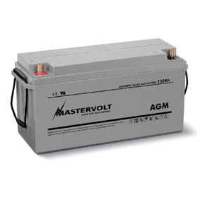 MASTERVOLT AGM BATTERY 12V 130Ah