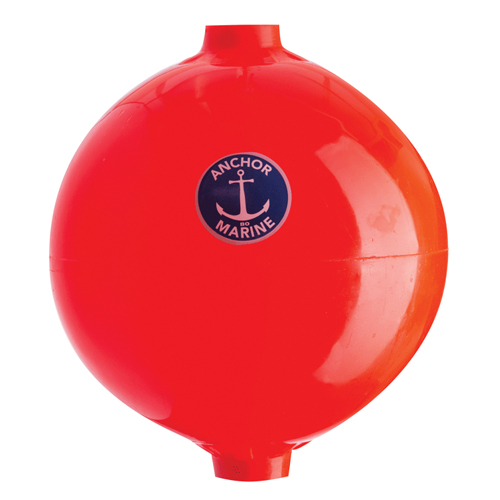 ANCHOR POLE BUOY 41 DIA X 16CM FL.ORANGE