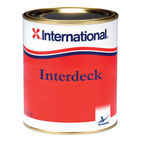 INTERNATIONAL INTERDECK WHITE 750ml