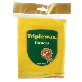 TRIPLEWAX TWO YELLOW DUSTERS (12)